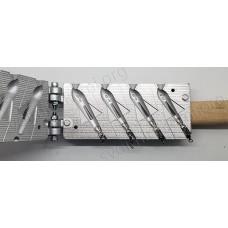 Ракета остроносая четырехкрылая  50-80 г