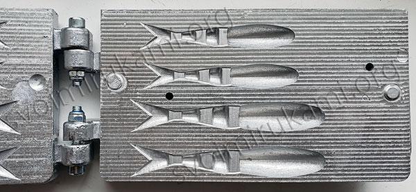 Картинка форма для поролоновых рыбок