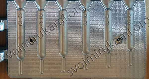 Картинка форма быстролейка дроп-шот 25-50г